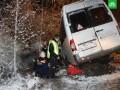 В РФ автобус врезался в лесовоз: 14 погибших