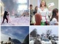 День в фото: первые владельцы ID-карт в Украине и снегопад в Нью-Йорке