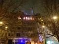 Пожар в центре Киева тушат 22 пожарных машины