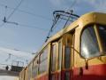 В Одессе охотники за металлоломом остановили движение по одному из трамвайных маршрутов