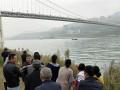 В Китае автобус упал в реку: есть жертвы