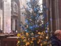 Елку в главном соборе Чехии украсили названиями городов Донбасса