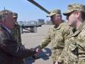 Министр обороны Дании встретился с командующим ООС в Краматорске