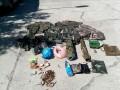 На Луганщине диверсанты бежали от украинских разведчиков, бросив оружие и боеприпасы