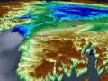 Под ледником Гренландии обнаружили второй массивный кратер
