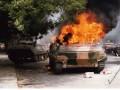 Фейки недели: горящие БТРы, толпы беженцев и расстрел пленных (фото)