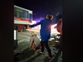Как забрасывали камнями автобусы с эвакуированными из Уханя: Детали