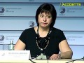 Яресько российскому журналисту: Извините, я не говорю по-русски