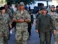 Военные трех стран посетили ООС