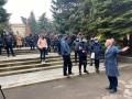 Против карантина выходного дня протестуют в Ровно и Виннице