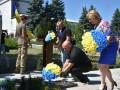 В Марьинке отметили 6-ю годовщину освобождения от оккупантов