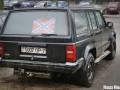 В Минске машине с флагом