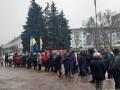 В Житомире начался протест против карантина