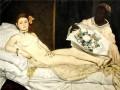 Художница обнажилась перед картиной Мане в знаменитом музее d'Orsay