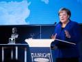 Меркель наградили премией Фулбрайта