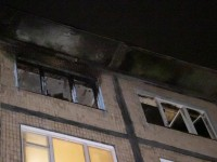 В Киеве мужчина поджег квартиру с соседом внутри