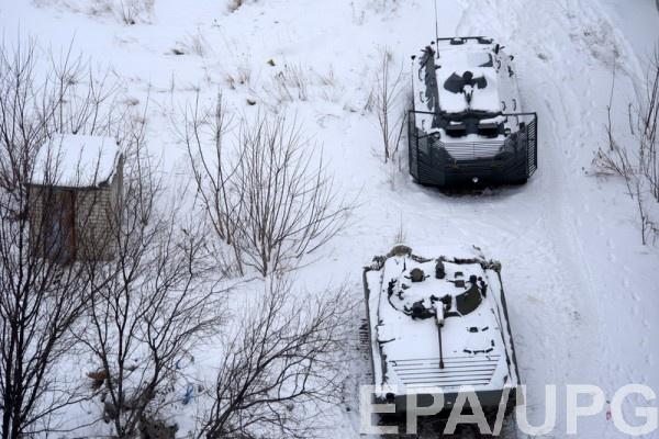 Боевики активизировались налевом фланге Авдеевки