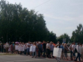 Жители блокируют трассу Киев-Чоп из-за вывоза мусора