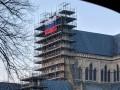 На соборе в Солсбери появился флаг России