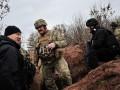 Турчинов съездил на отвоеванные позиции в зоне АТО