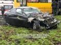 В Киеве маршрутка столкнулась с BMW, есть пострадавшие
