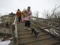 В Авдеевке началась добровольная эвакуация людей