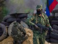 Пьяные боевики устроили перестрелку и сожгли жилой дом на Донбассе
