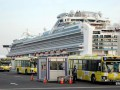 Экипаж и все пассажиры покинули лайнер Diamond Princess