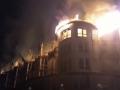 На горнолыжном курорте под Львовом сгорел отель