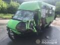 В Харькове в ДТП разбилась маршрутка: 15 пострадавших