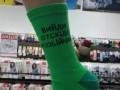 В Житомире выпускают носки с цитатами Зеленского
