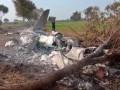 В Пакистане разбился истребитель с двумя пилотами