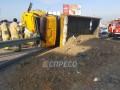 В Киеве грузовик протаранил маршрутку: восемь пострадавших
