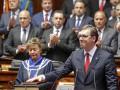 В Сербии на фоне протестов принял присягу новый президент Вучич