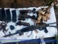 В заброшенной школе нашли арсенал с боеприпасами