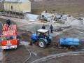 Пожар на маслозаводе под Николаевом тушили семь часов