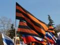 В Харькове участников круглого стола встречали митингующие