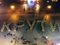 Курсанты Военной академии Одессы устроили акцию в честь Героев Крут