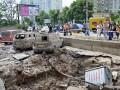 В Киеве прорвало напорную трубу, фонтан бил до 7-го этажа