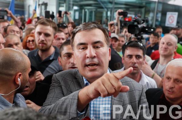 Саакашвили обижен на Порошенко