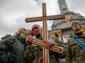Провели в последний путь: на Майдане простились с погибшими бойцами АТО