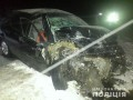 Audi под Запорожьем выскочил на встречку и врезался в Chevrolet: есть жертвы