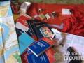 В Николаеве у воров нашли взрывчатку, оружие и коммунистическую символику