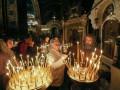 Православные верующие встречают Пасху Христову