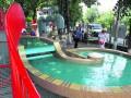 В Киеве на Пейзажной Аллее появился фонтан