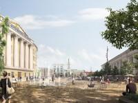 Киевлянам показали эскизы проекта реконструкции Контрактовой