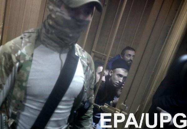Украинским морякам хотят продлить пребывание в СИЗО