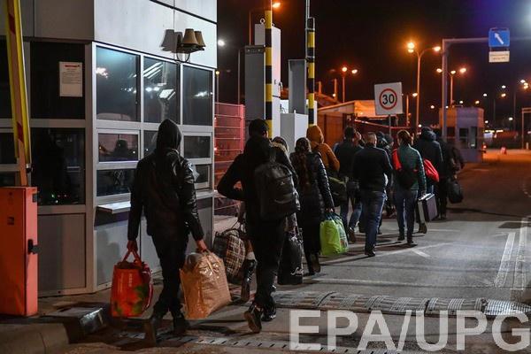 Украина закрывает границы