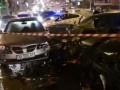 В Киеве разбились пять машин