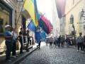 В Эстонии пикетировали посольство РФ в поддержку Сенцова